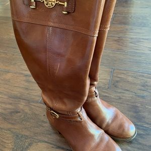 GUC Tory Burch boots size 8